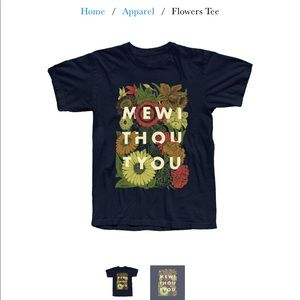 mewithoutYou Flowers Tee